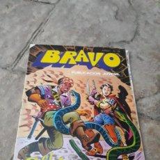 Tebeos: EDITORIAL BRUGUERA. BRAVO. EL CACHORRO. N°10. EL BARCO NEGRERO. Lote 199326091