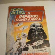 Tebeos: LA GUERRA DE LAS GALAXIAS EL IMPERIO CONTRAATACA. COLOR RÚSTICA BRUGUERA 1980 96 PÁG (ESTADO NORMAL). Lote 199384932