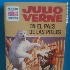 Tebeos: JULIO VERNE, EN EL PAIS DE LOS PIELES ROJAS, EDICION ILUSTRADA. HISTORIAS SELECCION, BRUGUERA. Lote 199388176
