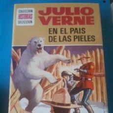 Tebeos: JULIO VERNE, EN EL PAIS DE LOS PIELES ROJAS, EDICION ILUSTRADA. HISTORIAS SELECCION, BRUGUERA. Lote 199388237
