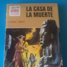 Tebeos: KARL MAY, LA CASA DE LA MUERTE. EDICION ILUSTRADA. HISTORIAS SELECCION, BRUGUERA. Lote 199388721