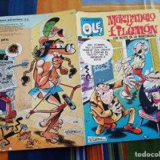 Livros de Banda Desenhada: OLÉ Nº 163 MORTADELO Y FILEMON. BRUGUERA 2ª EDICIÓN. Lote 199445488