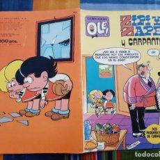 Livros de Banda Desenhada: OLÉ Nº 200 ZIPI Y ZAPE. BRUGUERA 2ª EDICIÓN. Lote 199445495