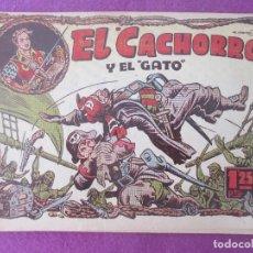 Tebeos: TEBEO EL CACHORRO Y EL GATO ED. BRUGUERA ABRIL 1955. Lote 199449251