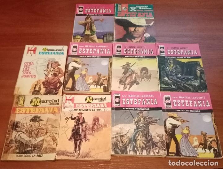 LOTE DE 10 BOLSILIBROS, ESTEFANIA, KANSAS , LOTE 58 (Tebeos y Comics - Bruguera - Otros)