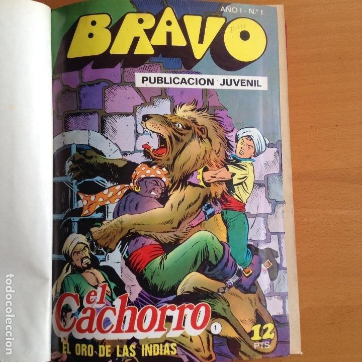 Tebeos: EL CACHORRO - BRAVO (BRUGUERA) 1976-1977 COMPLETA - Foto 2 - 199657958