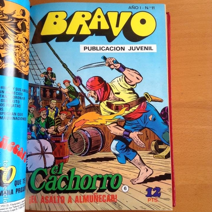 Tebeos: EL CACHORRO - BRAVO (BRUGUERA) 1976-1977 COMPLETA - Foto 3 - 199657958
