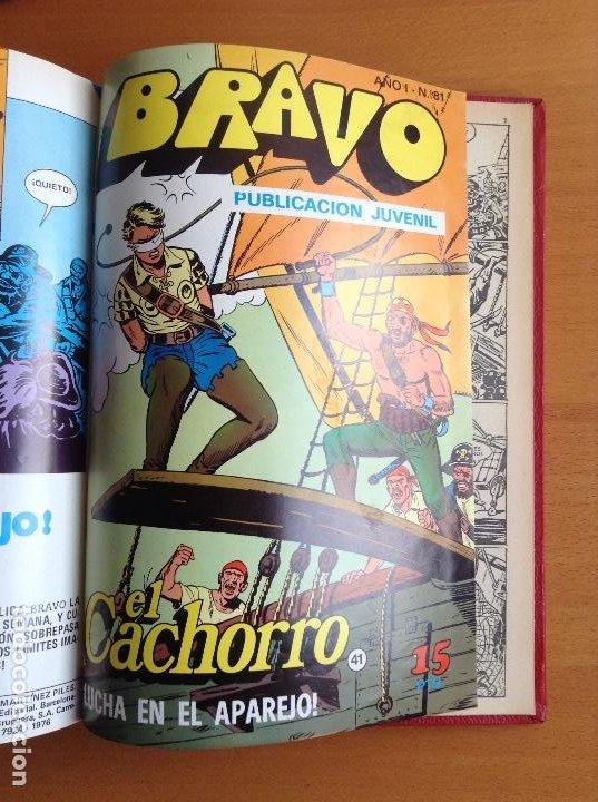 Tebeos: EL CACHORRO - BRAVO (BRUGUERA) 1976-1977 COMPLETA - Foto 6 - 199657958
