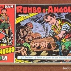 Tebeos: EL CACHORRO. RUMBO A ANGOLA. Lote 199712597