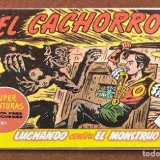 Tebeos: EL CACHORRO. LUCHANDO CONTRA EL MONSTRUO.. Lote 199713368