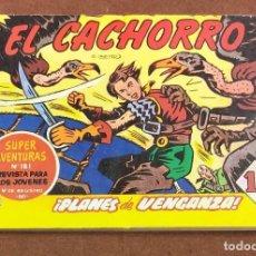 Tebeos: EL CACHORRO. PLANES DE VENGANZA.. Lote 199714058