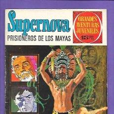 Tebeos: GRANDES AVENTURAS JUVENILES NUMERO 56 SUPERNOVA PRISIONEROS DE LOS MAYAS. Lote 199789595