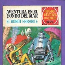 Tebeos: GRANDES AVENTURAS JUVENILES NUMERO 41 AVENTURA EN EL FONDO DEL MAR EL ROBOT ERRANTE. Lote 199790633