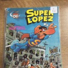 BDs: BRUGUERA OLE SUPER LOPEZ NUMERO 6 NORMAL ESTADO. Lote 199942546