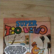 Tebeos: SUPER TIO VIVO. NUMERO 124. Lote 200002776