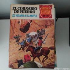 Tebeos: EL CORSARIO DE HIERRO,LOS HÚSARES DE LA MUERTE Nº72. Lote 200002811