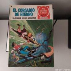 Tebeos: EL CORSARIO DE HIERRO, EL TERROR DE LOS SARGAZOS Nº27. Lote 200003491