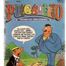 BDs: PULGARCITO. Nº 20. 3ª ÉPOCA. BRUGUERA 1986.(ST/). Lote 200025506