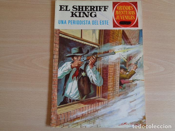 EL SHERIFF KING Nº 31. UNPERIODISTA DE ESTE. BRUGUERA 1972. BUEN ESTADO (Tebeos y Comics - Bruguera - Sheriff King)