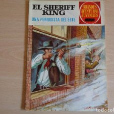 Tebeos: EL SHERIFF KING Nº 31. UNPERIODISTA DE ESTE. BRUGUERA 1972. BUEN ESTADO. Lote 200352560