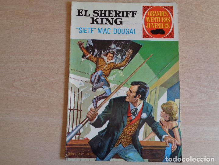 EL SHERIFF KING Nº 22. SIETE MAC DOUGAL. BRUGUERA 1972. BUEN ESTADO (Tebeos y Comics - Bruguera - Sheriff King)