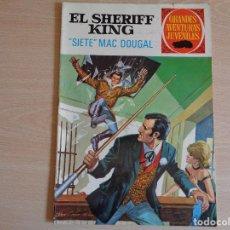 Tebeos: EL SHERIFF KING Nº 22. SIETE MAC DOUGAL. BRUGUERA 1972. BUEN ESTADO. Lote 200352858