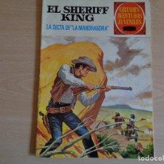 Tebeos: EL SHERIFF KING Nº 30. LA SECTA DE LA MANDRAGORA. BRUGUERA 1972. BUEN ESTADO. Lote 200353018
