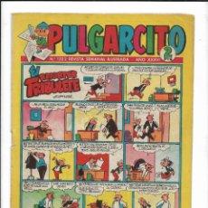 Tebeos: PULGARCITO Nº 1322 HISTORIASCOPIO CON EL CAPITÁN TRUENO ES ORIGINAL DIBUJADA POR AMBROS.. Lote 200406705