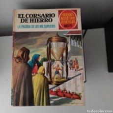 Tebeos: CORSARIO DE HIERRO,LA PAGODA DE LOS MIL SUPLICIOS Nº17. Lote 200519840