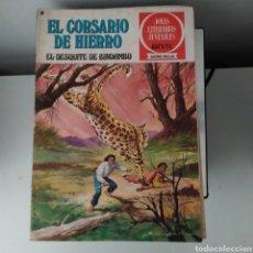 Tebeos: CORSARIO DE HIERRO,EL DESQUITE DE BINDAMBO Nº24. Lote 200522275