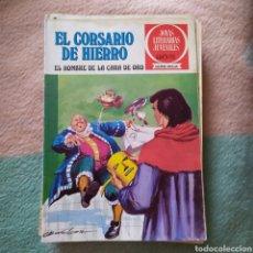 Tebeos: CORSARIO DE HIERRO,EL HOMBRE DE LA CARA DE ORO. Lote 200543890