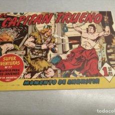 Livros de Banda Desenhada: CAPITÁN TRUENO N º 80 / BRUGUERA ORIGINAL. Lote 200554390