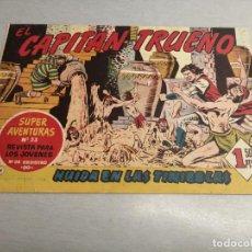Livros de Banda Desenhada: CAPITÁN TRUENO N º 91 / BRUGUERA ORIGINAL. Lote 200566082
