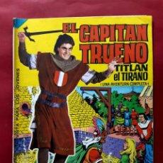 Tebeos: EL CAPITAN TRUENO ALBUM GIGANTE Nº 9 EXCELENTE ESTADO. Lote 200567506