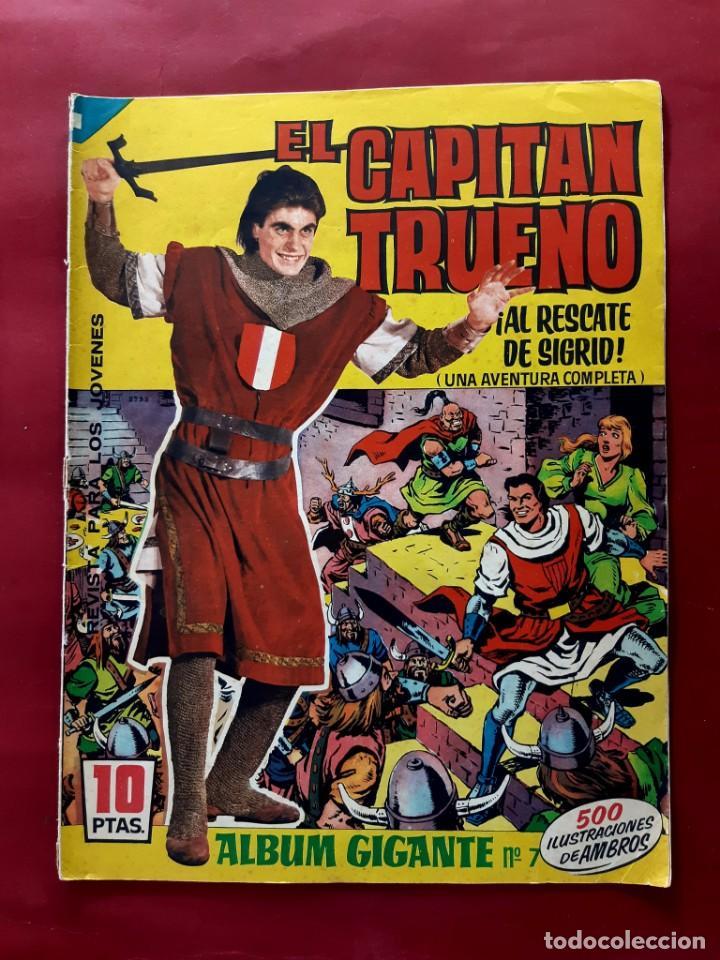 EL CAPITAN TRUENO ALBUM GIGANTE Nº 7 EXCELENTE ESTADO (Tebeos y Comics - Bruguera - Capitán Trueno)