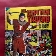 Tebeos: EL CAPITAN TRUENO ALBUM GIGANTE Nº 7 EXCELENTE ESTADO. Lote 200568052