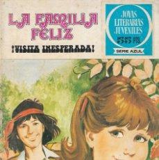 Tebeos: LA FAMILIA FELIZ - Nº 21 - ¡ VISITA INESPERADA ! - JOYAS LITERARIAS JUVENILES - ED. BRUGUERA, 1981. Lote 200613271
