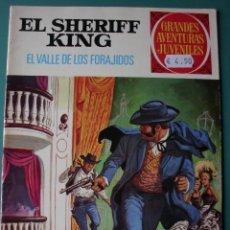 Tebeos: LOTE 29 TEBEOS DE SHERIFF KING (NÚMEROS SUELTOS Y EN DOS TOMOS). Lote 200660876