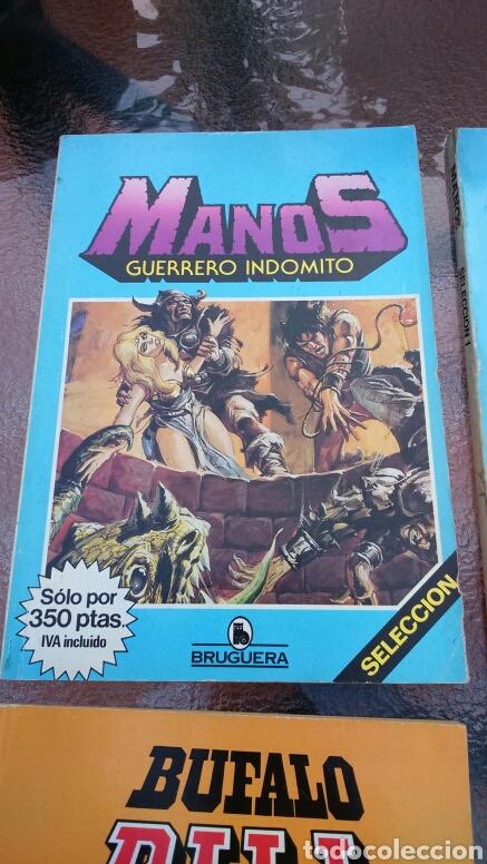 Tebeos: SELECCIÓN BRUGUERA LOTE DE 6 TOMOS (MANOS, BUFALO BILL, ALUCINE Y REX NORTON) - Foto 3 - 200757923
