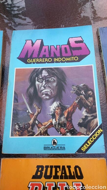 Tebeos: SELECCIÓN BRUGUERA LOTE DE 6 TOMOS (MANOS, BUFALO BILL, ALUCINE Y REX NORTON) - Foto 4 - 200757923