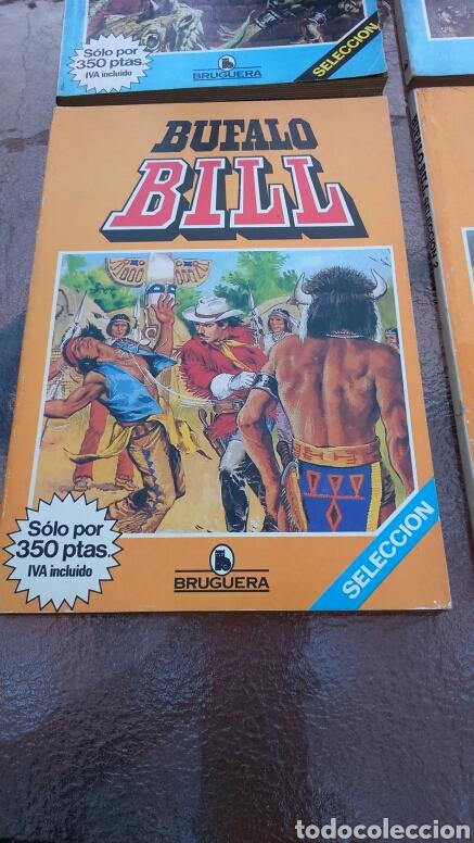 Tebeos: SELECCIÓN BRUGUERA LOTE DE 6 TOMOS (MANOS, BUFALO BILL, ALUCINE Y REX NORTON) - Foto 8 - 200757923
