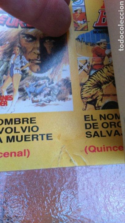 Tebeos: SELECCIÓN BRUGUERA LOTE DE 6 TOMOS (MANOS, BUFALO BILL, ALUCINE Y REX NORTON) - Foto 16 - 200757923
