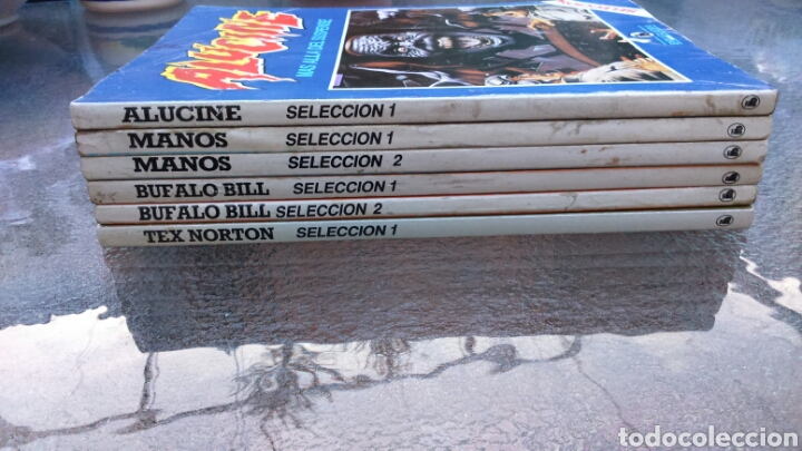 Tebeos: SELECCIÓN BRUGUERA LOTE DE 6 TOMOS (MANOS, BUFALO BILL, ALUCINE Y REX NORTON) - Foto 21 - 200757923