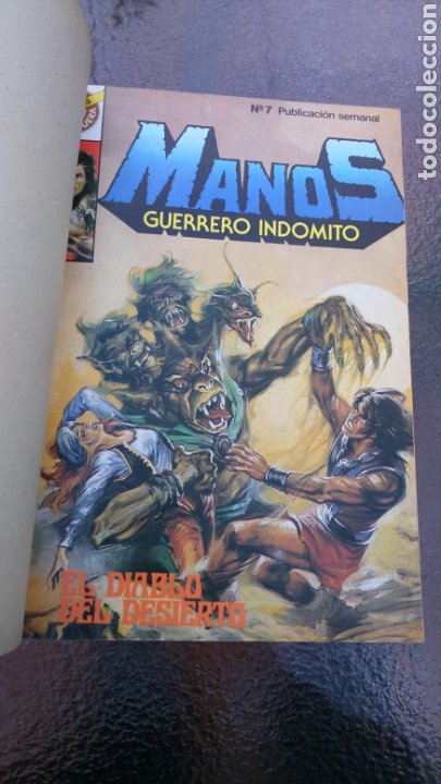 Tebeos: SELECCIÓN BRUGUERA LOTE DE 6 TOMOS (MANOS, BUFALO BILL, ALUCINE Y REX NORTON) - Foto 24 - 200757923
