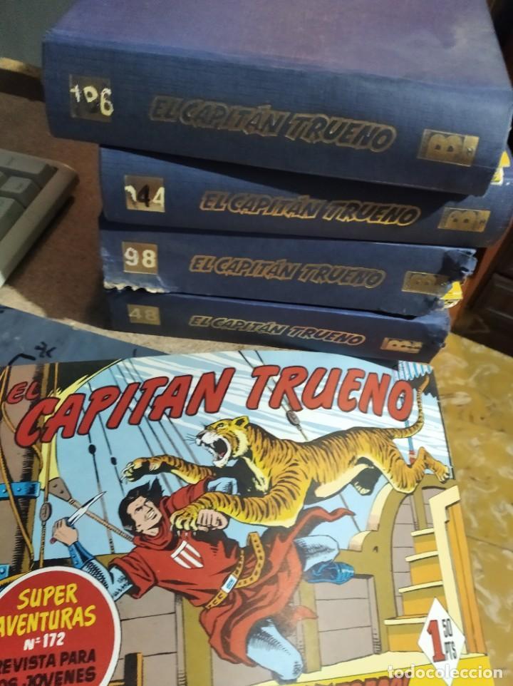 EL CAPITÁN TRUENO 186 NÚMEROS EN 4 CARPETAS. NUEVOS. EDICIONES B 1991 (Tebeos y Comics - Bruguera - Capitán Trueno)