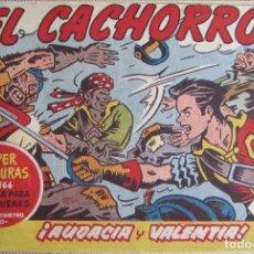 Tebeos: EL CACHORRO Nº 201, AUDACIA Y VALENTÍA. IRANZO. EDITORIAL BRUGUERA, ORIGINAL 1959. Lote 201135442