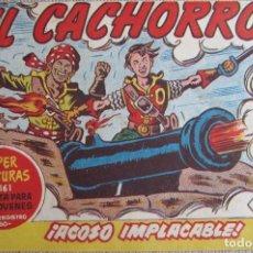 Tebeos: EL CACHORRO Nº 200, ACOSO IMPLACABLE. IRANZO. EDITORIAL BRUGUERA, ORIGINAL 1959. Lote 201135952