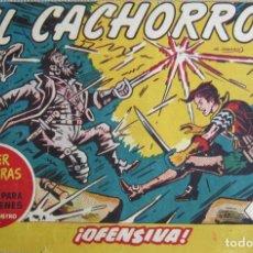 Tebeos: EL CACHORRO Nº 198, OFENSIVA. IRANZO. EDITORIAL BRUGUERA, ORIGINAL 1959. Lote 201136667