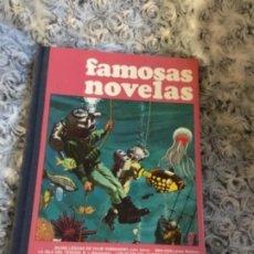 Tebeos: ATENCION FAMOSAS NOVELAS VOLUMEN UNO PRIMERÍSIMA EDICIÓN 1972 ATENCIÓN COLECCIONISTAS ÚNICA . Lote 130832348