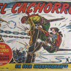 Livros de Banda Desenhada: EL CACHORRO Nº 174, LA ISLA INEXPUGNABLE. IRANZO. EDITORIAL BRUGUERA, ORIGINAL 1958. Lote 201139986